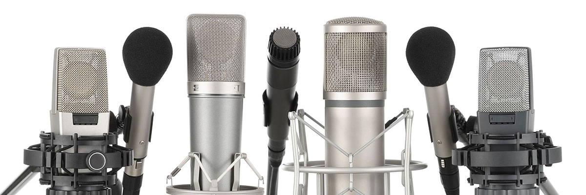 podcast recording and production